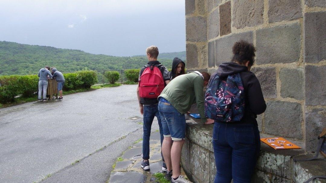 Eglise et village Saint-Nectaire