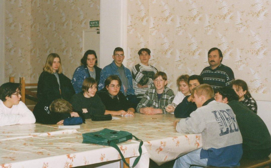 Archives anciens élèves mfr puy-sec 1995 Jean-Luc GAUTRON Président