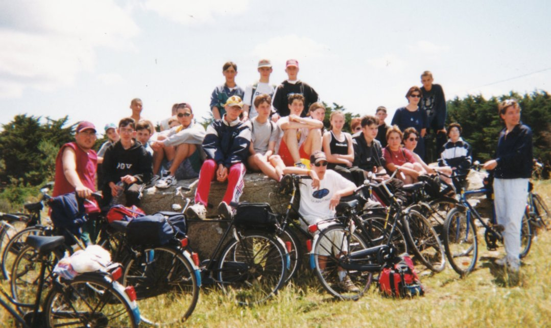A vélo avec Myriam PAJOT