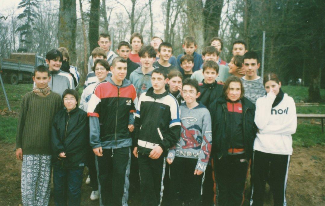 Sébastien GENDREAU et sa classe