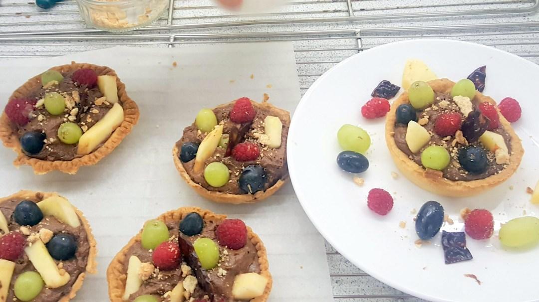 Atelier Patisserie J1 tarte au chocolat et sa farandole de fruits CFA MFR Puy-Sec Formations Adultes (16)