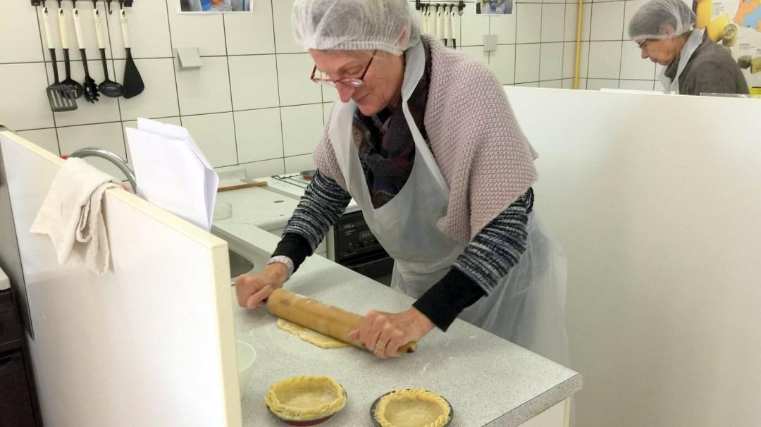 Atelier Patisserie J1 tarte au chocolat et sa farandole de fruits CFA MFR Puy-Sec Formations Adultes (33)