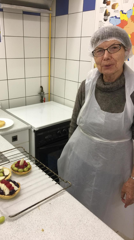 Atelier Patisserie J1 tarte au chocolat et sa farandole de fruits CFA MFR Puy-Sec Formations Adultes (43)