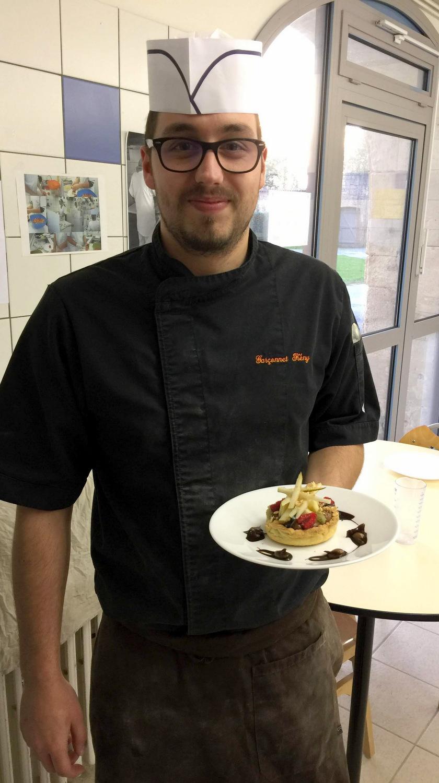 Atelier Patisserie J1 tarte au chocolat et sa farandole de fruits CFA MFR Puy-Sec Formations Adultes (46)