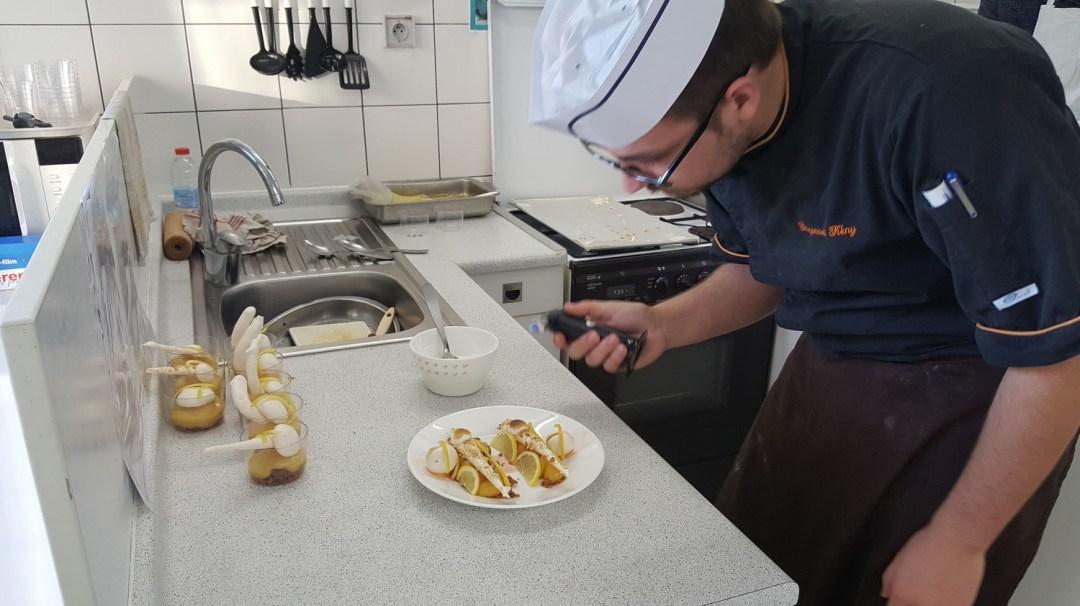 Atelier Patisserie J2 tarte au citron revisitée CFA MFR Puy-Sec Formations Adultes (11)