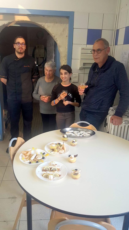 Atelier Patisserie J2 tarte au citron revisitée CFA MFR Puy-Sec Formations Adultes (18)