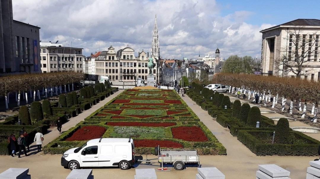 Des vendéens à Bruxelles Belgique 2019