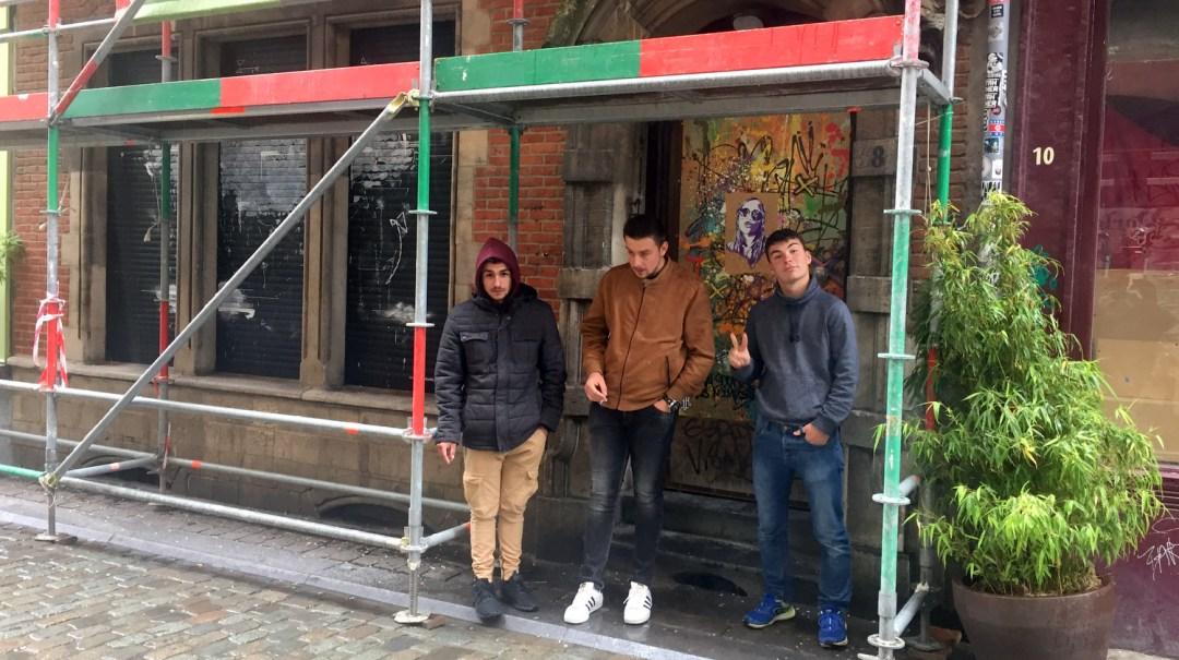 Trois vendéens à Bruxelles Belgique 2019