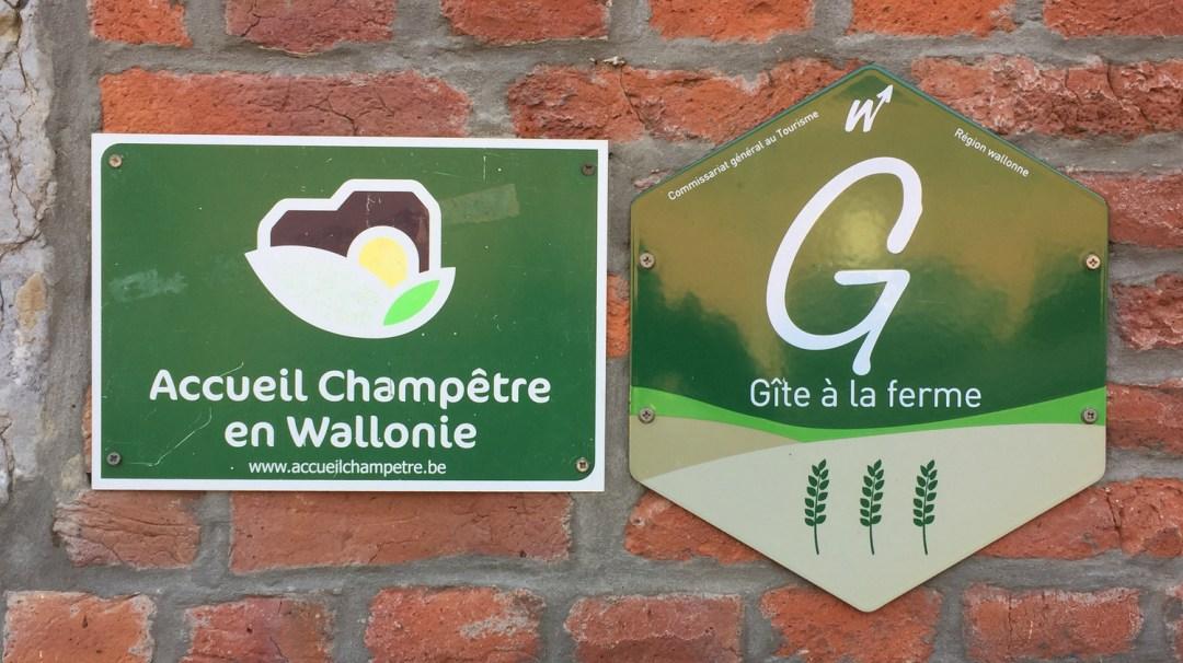 Gîtes de prés de la ferme Francotte Belgique