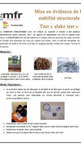 Mettre en évidence la texture des sols