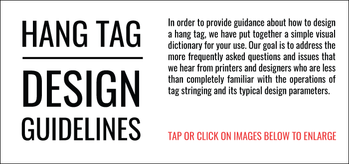 Hang Tag Design Guidelines
