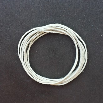 A coil of our polished cord.
