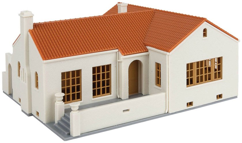 Mission Style House