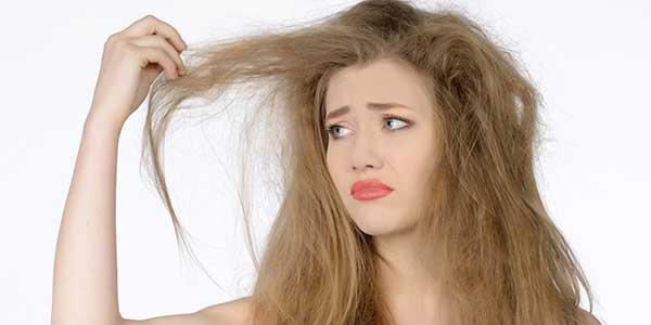 كيفية علاج الشعر التالف