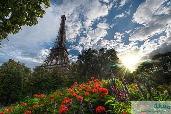 احلى اماكن السياحة فى باريس