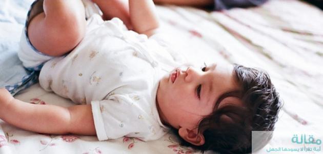 علاج غازات الرضيع