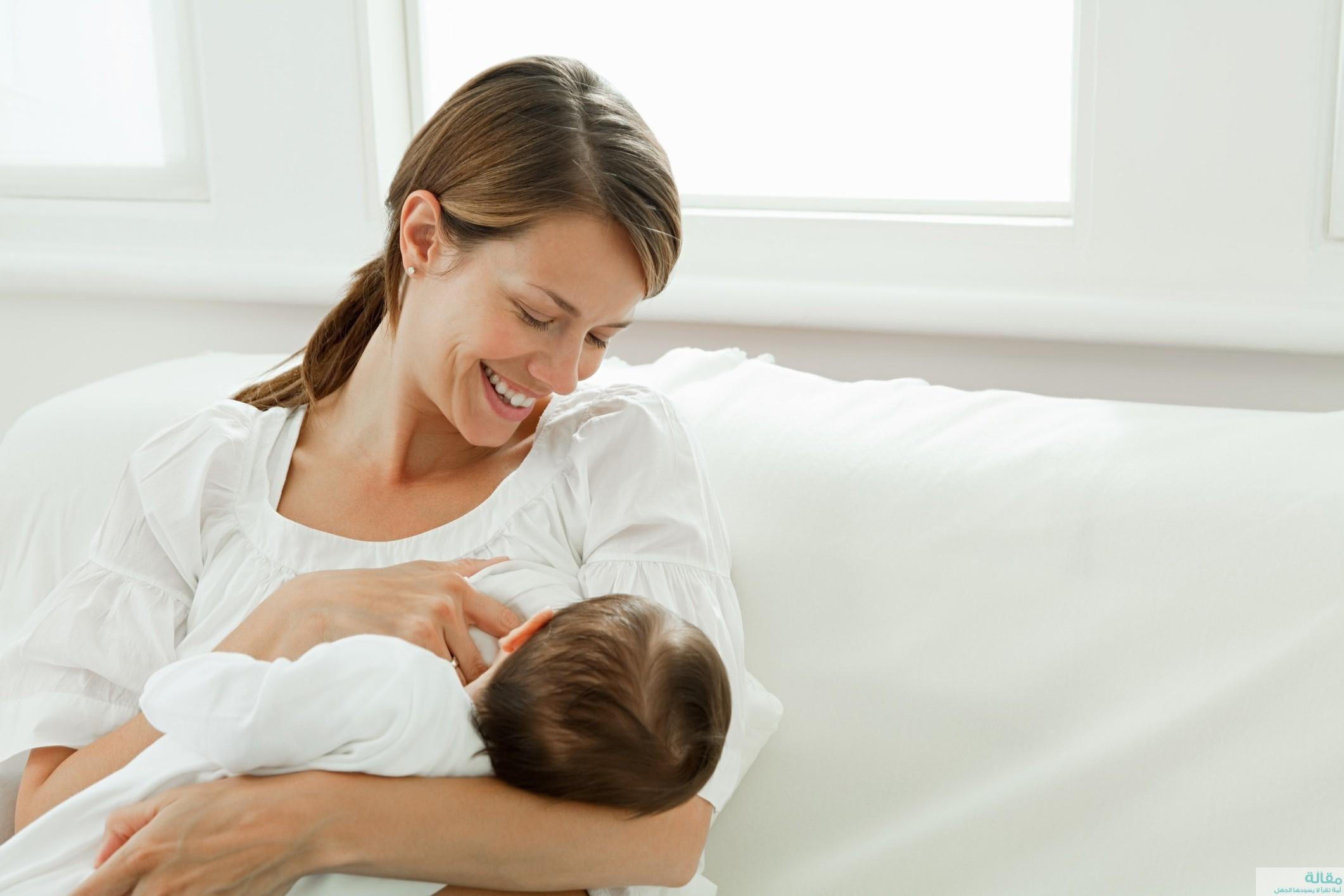 اسباب رفض الطفل الرضاعة الطبيعية