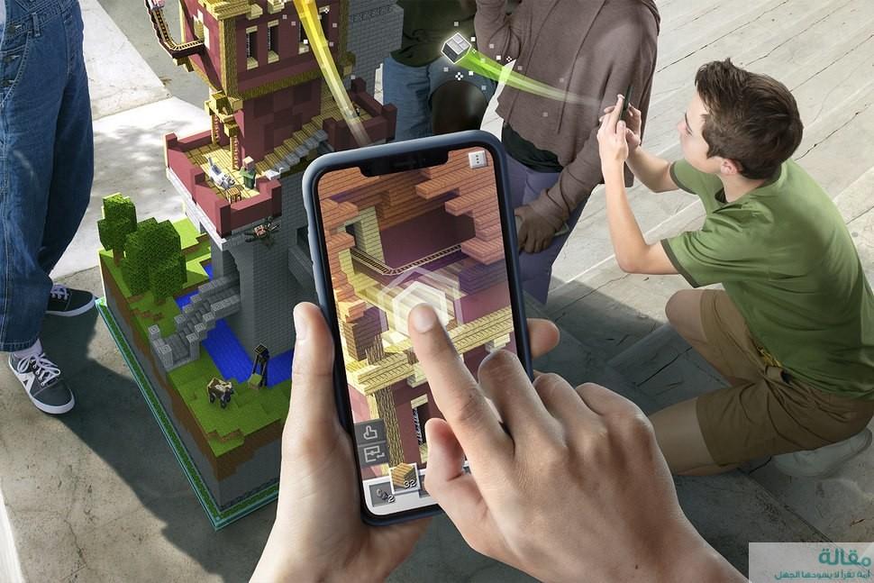 لعبة الواقع المعزز Minecraft Earth متاحة الان