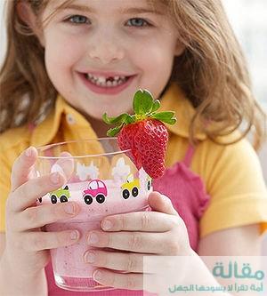 ما هي المشروبات الصحية للأطفال