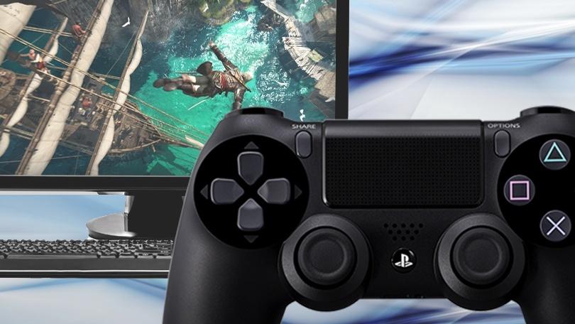 طرق استخدام جهاز التحكم PS4 DualShock 4 على الكمبيوتر