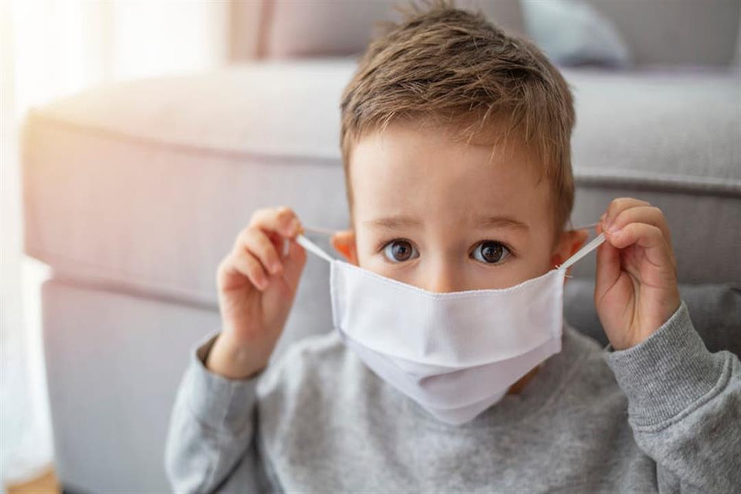 هل القناع له تأثير سلبي علي الطفل