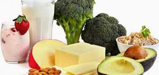 مجموعه أطعمة تساعد في تحسين صحة العظام
