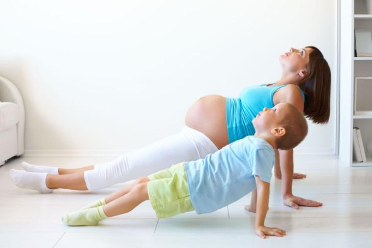 تدريبات للقيام بها في الثلث الثالث من الحمل