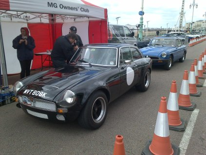 Brighton Love the Sebring replica!....Fitted with a 4.6 litre V8 + 5 speed Rover SD1 gearbox + Sounded VERY nice !