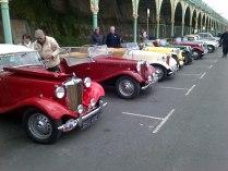 Brighton Nice row of T-Types (TD TC TF etc