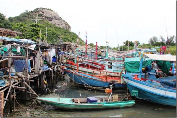 2012_09_16 Thailand Hua Hin Fishing Village (2)