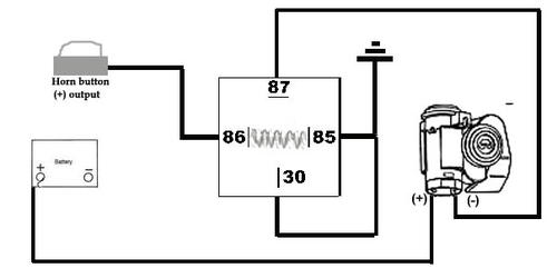wiring diagram for air horn relay wiring image wolo air horn wiring diagram the wiring diagram on wiring diagram for air horn relay