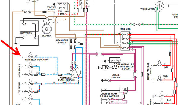 MGB_wiring_diagram_p13_detail rover 25 wiring diagram efcaviation com rover 25 radio wiring diagram at bayanpartner.co