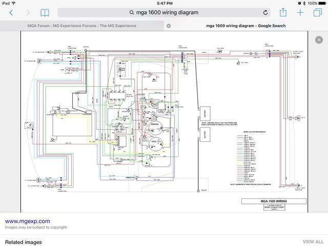Mg Tf Dash Wiring Diagrams Wiring Diagram Schematics  sc 1 st  gojono.com : mg tc wiring diagram - yogabreezes.com