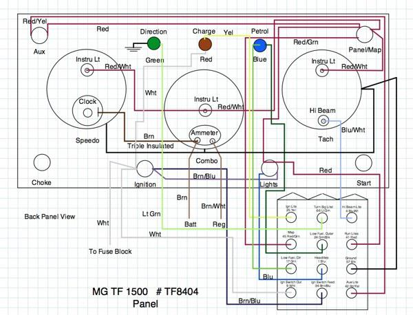 Mg Midget Wiring Diagram