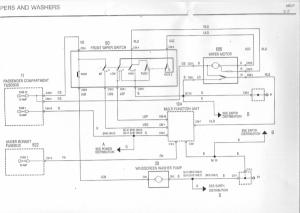 Wiper motor wiring diagram  MGRover Forums