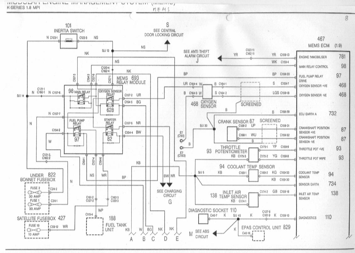 K Series Race Car Wiring Diagram