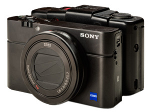 Sony and Olympus Side By Side