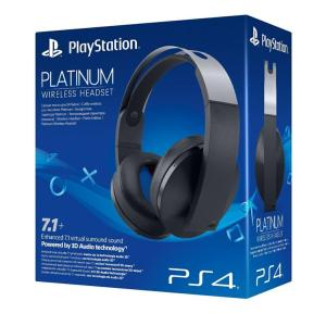PS4: Wireless Headset Platinum
