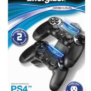 PS4: Energizer 2X Charging System for PS4