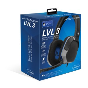 PS4: LvL 3 Wired Stereo Headset for PS4 licensed
