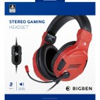 PS4: PS4 Gaming Headset V3 Red Sony licensed