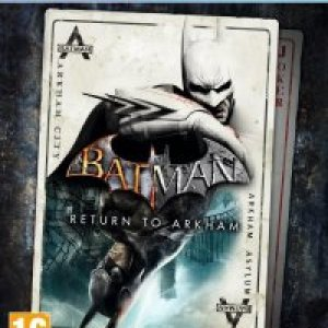 PS4: Batman Return to Arkham HD Collection