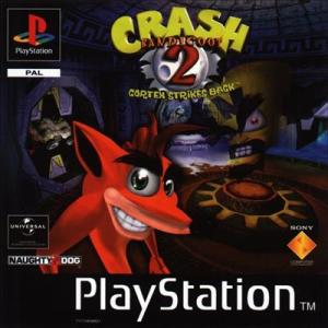 PS1: Crash Bandicoot 2: Cortex Strikes Back (Platinum) CIB (käytetty)