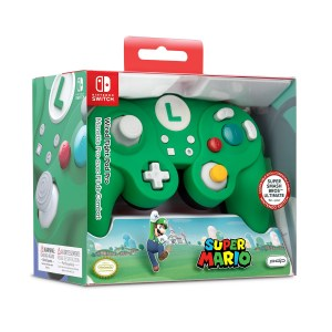 Switch: Switch Smash Pad Pro Luigi wired Controller