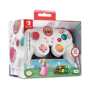 Switch: Switch Smash Pad Pro Peach wired Controller