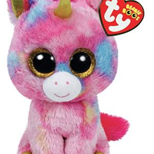 TY Beanie Boos FANTASIA - multicolor unicorn reg