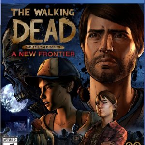 PS4: The Walking Dead: The Telltale Series - A New Frontier