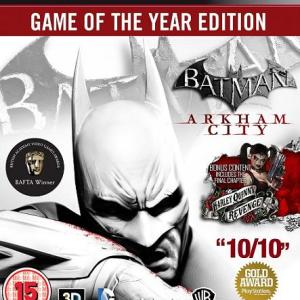 PS3: Batman: Arkham City - Game Of The Year Edition