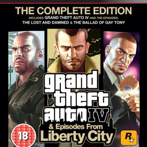 PS3: Grand Theft Auto IV & Episodes From Liberty City – The Complete Edition