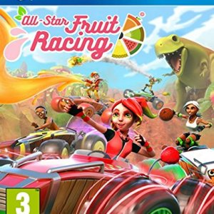 PS4: All-Star Fruit Racing
